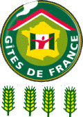 logo label 4 épis Gîtes de France